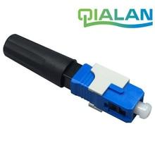 Fiber Optic Connector SC UPC Fiber Quick Connector Cold FTTH SC Single Mode APC Optic Fiber Fast SC Connector цена и фото