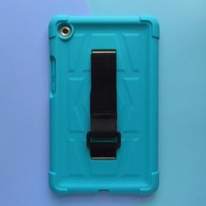 Image 2 - MingShore 頑丈なシリコーン Huawei 社の MediaPad M5 8.4 インチ SHT AL09 SHT W09 タブレット耐衝撃カバーケース