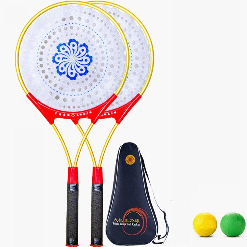 Chinese Kongfu Chinese Wushu Martial Arts Taiji Rouli Ball Sports Tai Chi Racket Set2