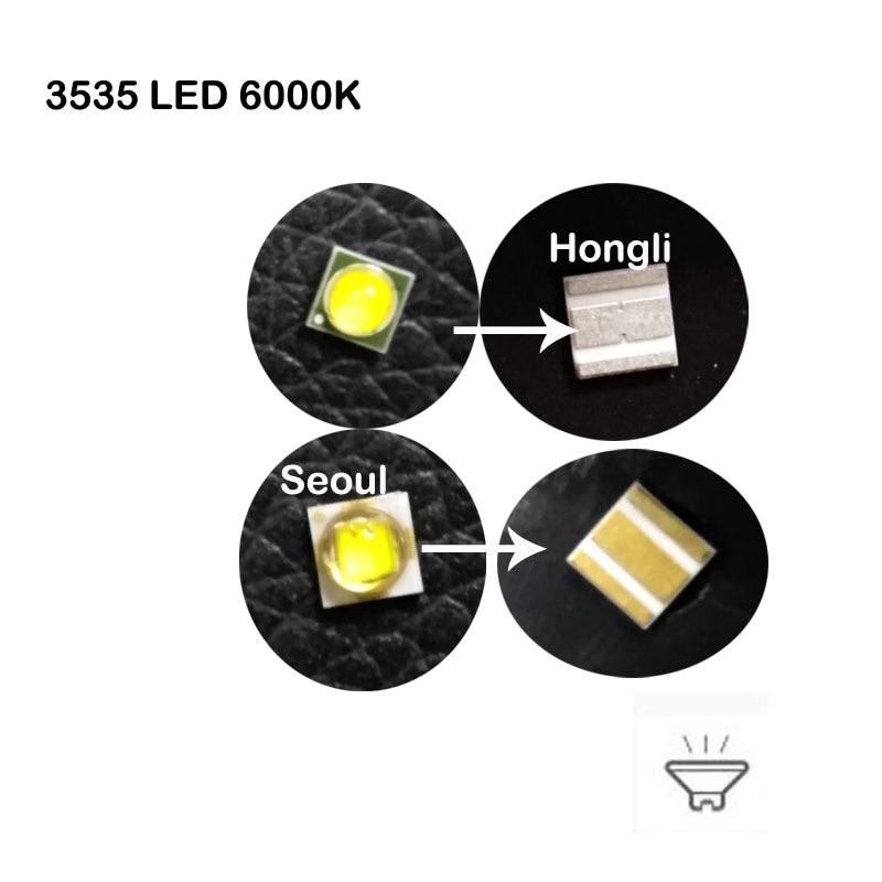 100PCS Original Samsung Hongli Seoul  3W SMD LED Diode 3V 700ma 3000K 4000K 6000K