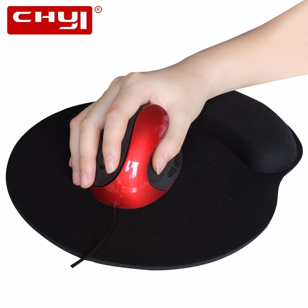CHYI Wired Vertical Gaming Mouse Gamer Ergonomic USB Cable Computer Mice 1600DPI Optical Muase With Mouse Pad For PC Laptop цена