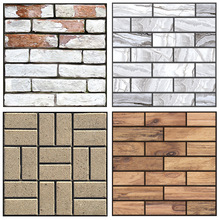 30*30cm PVC Waterproof Stereo Brick Pattern Wallpaper For Walls Roll 3D Living Room Bedroom Stone Wall Paper Home Decor