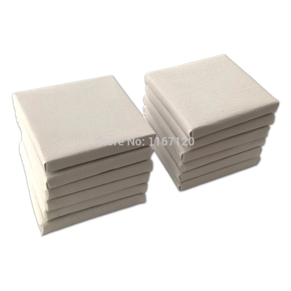 Online buy wholesale blank stretched canvas from china for Small canvas boards