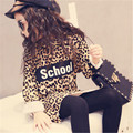 Girls Long tops 2016 new design long sleeve animal print girls clothes 2-7 years kids children spring autumn girls tops tee
