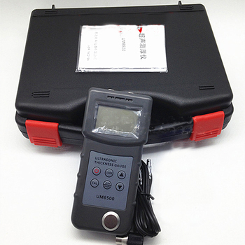 UM6500 Handheld Portable Digital Ultrasonic Thickness Gauge Tester Meter