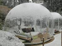Outdoor Camping Transparent Bubble Tent Cheap Clear Lawn Inflatable Dome Tent Inflatable Bubble Room , Wedding Tents For Sale