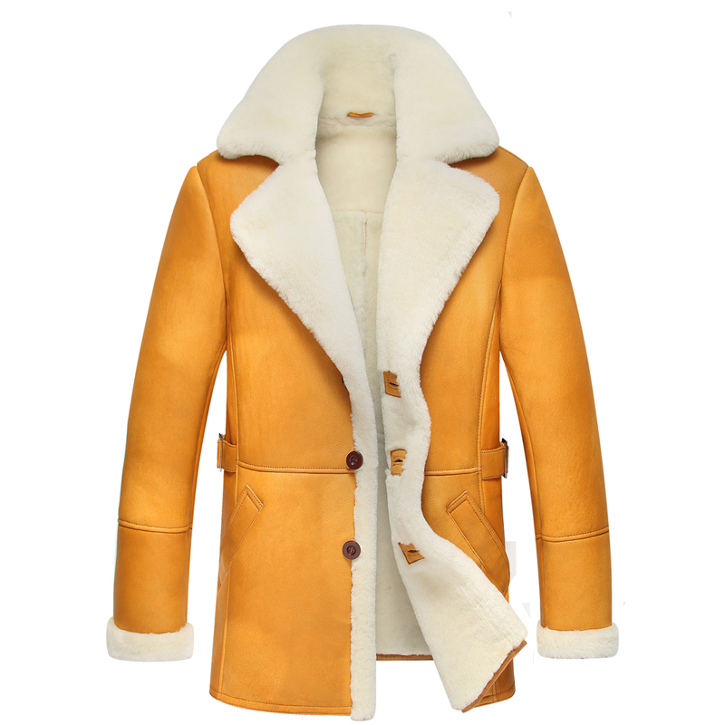 Popular Mens Shearling Coats-Buy Cheap Mens Shearling Coats lots ...
