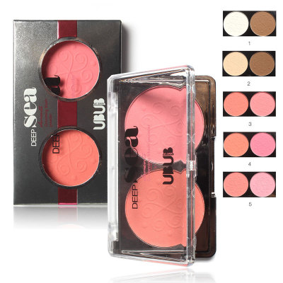 Brand Makeup Cosmetics 2 Colors Powder Blush Flower Diversity 5 Colors Optional