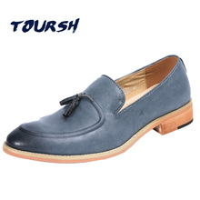 Toursh бренд Обувь из итальянской кожи Модные мужские коричневый, ЧЕРНЫЙ Итальянский Мужская обувь современные мужские классические туфли-оксфорды Туфли под платье классические