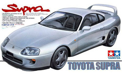 1/24 echelle assemblage voiture maquette Kits de construction voiture de sport Toyota Supra voiture modèle kit de bricolage Tamiya 24123 livraison gratuite