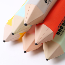 1 PC Novelty Silicone Stationery Pencil Pen Case Students School Supplies Pen Bag 6 Colors Select