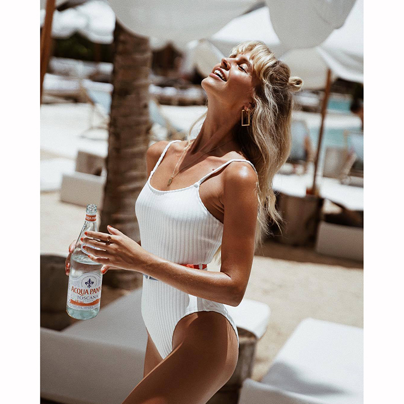 New Sexy Women Swimwear Swimsuit Swim Wear One Piece Body Suit Swimming Bathing Suits Monokini Maillot De Bain Mujer Summer 2019