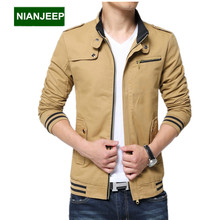 Brand new men's jacket autumn winter long Slim Wash cotton casual male jackets M-4XL men Outdoors tooling coats men clothing