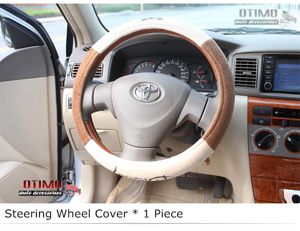 Cute Cartoon Car Steering Wheel Cover Mickey Mouse 5