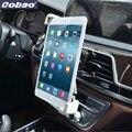 Cobao Универсальный 7 8 9 10 11 Tablet Автомобилей Air vent Держатель горе Стенд Держатель Отверстие Для iPad 2 3 Air Tablet PC Soporte таблетки