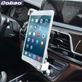 Cobao universal 7 8 9 10 11 tablet respiradouro de ar do carro titular montar estande titular ventilação para ipad 2 3 air tablet pc soporte Tablet