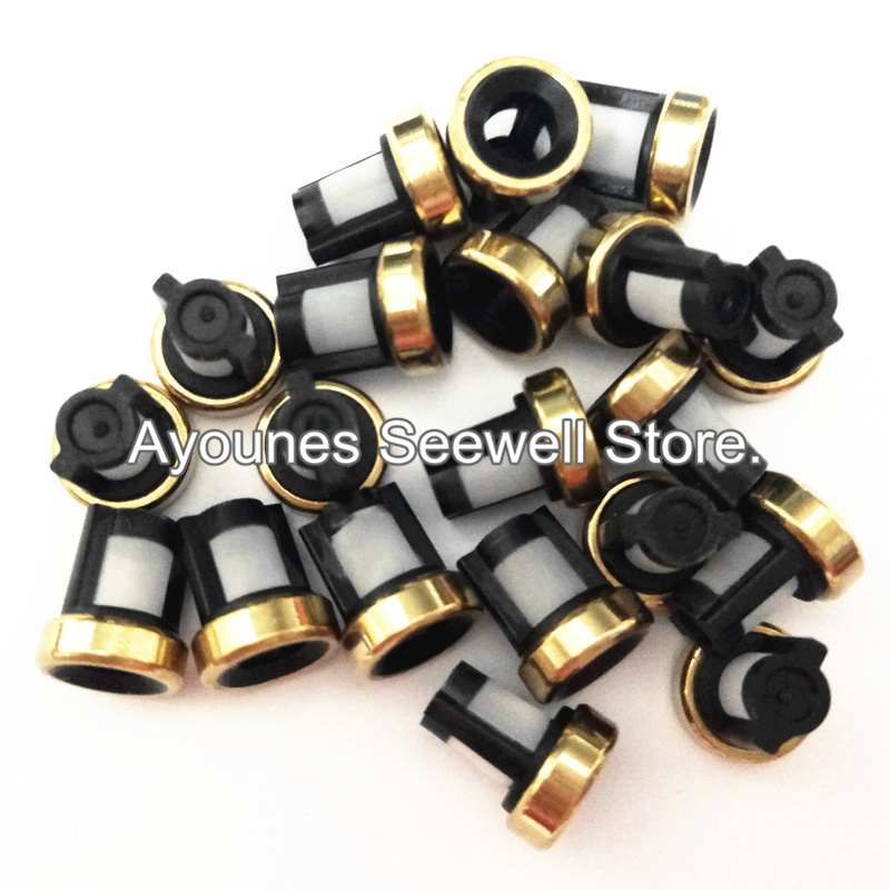 500pcs fuel injector microfilter 7 6 3mm for Renault Megane cars with free shipping for AY
