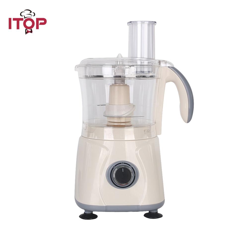Itop New Arrival Food Mixer Commercial Blender Vegetable Fruit Mixing Food Processors EU/US/UK Plug цена и фото