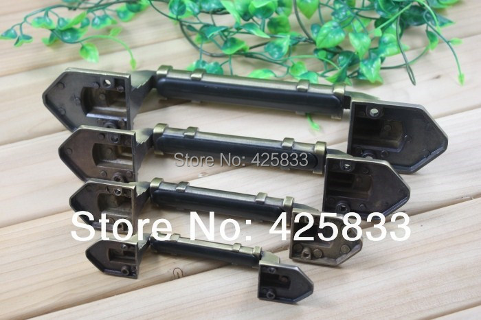 5pcs 200mm bronze open installation decorative drawer pulls thicken door cabinet handles knobs big handle wholesale - Decorative Drawer Pulls
