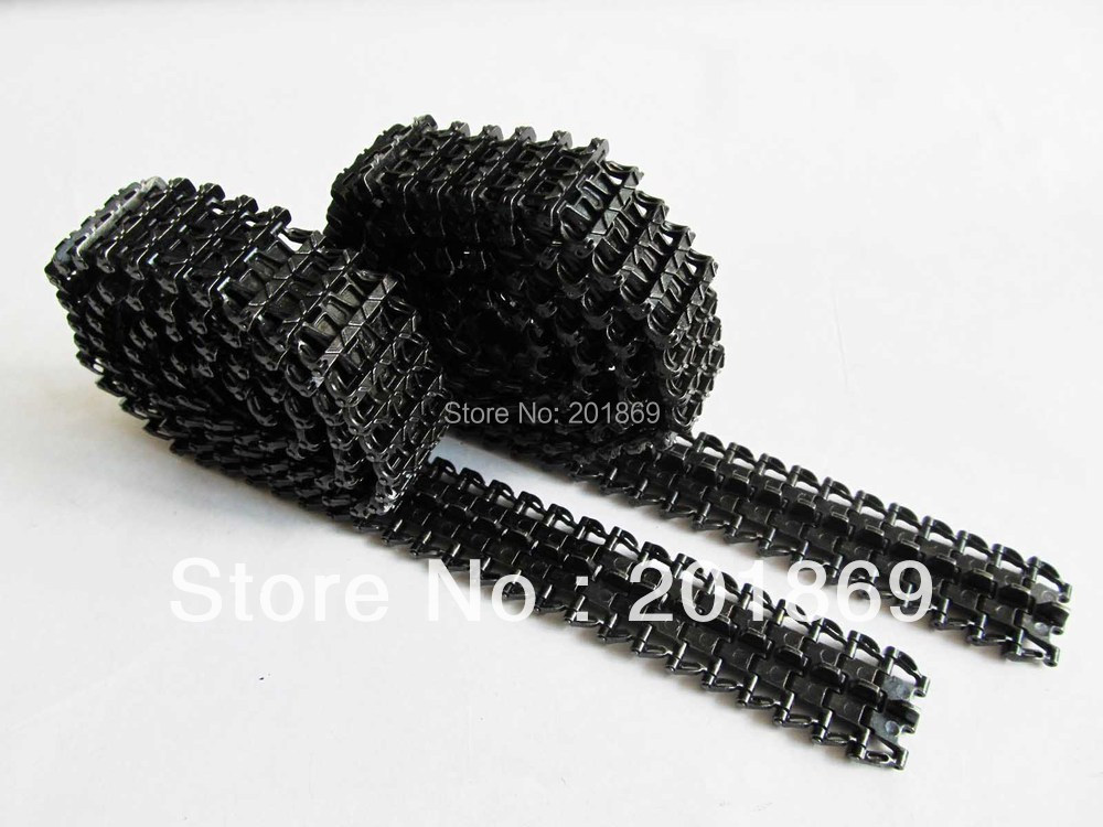 Mato 3858-1/3859-1 Panzer IV part  metal tracks black for Heng Long 1/16 1:16(black),metal upgrade parts, accessories for tank mato sherman tracks 1 16 1 16 t74 metal tracks