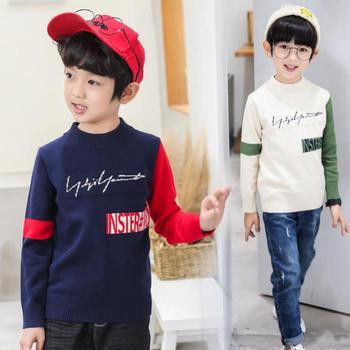 Fashion Boys Sweater 2020 Winter Autumn Infant Boys Outwear Sweater Cotton Kids Sweater Children Outerwear Knitwear Sweater Tops фото