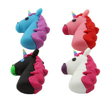 Cute cartoon Color horse Pendrive USB Flash Drive 4GB 8GB 16GB 32GB 64GB 128GB USB2.0 stick Pen Drive Memory disk Flash usb(China)