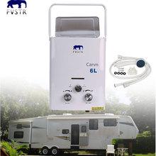ЕС) Настоящий дымовой Тип Lgp Мгновенный/stainlessness Ul 6l Lpg пропан газ нержавеющая водонагреватель мгновенный котел