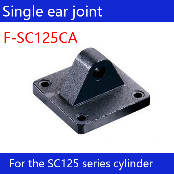 цена на Free shipping 2 pcs Free shipping SC125 standard cylinder single ear connector F-SC125CA