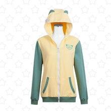 LoveLive Hoshizora Rin Hoodie font b Cosplay b font Costumes Jacket Love Live u s SIF