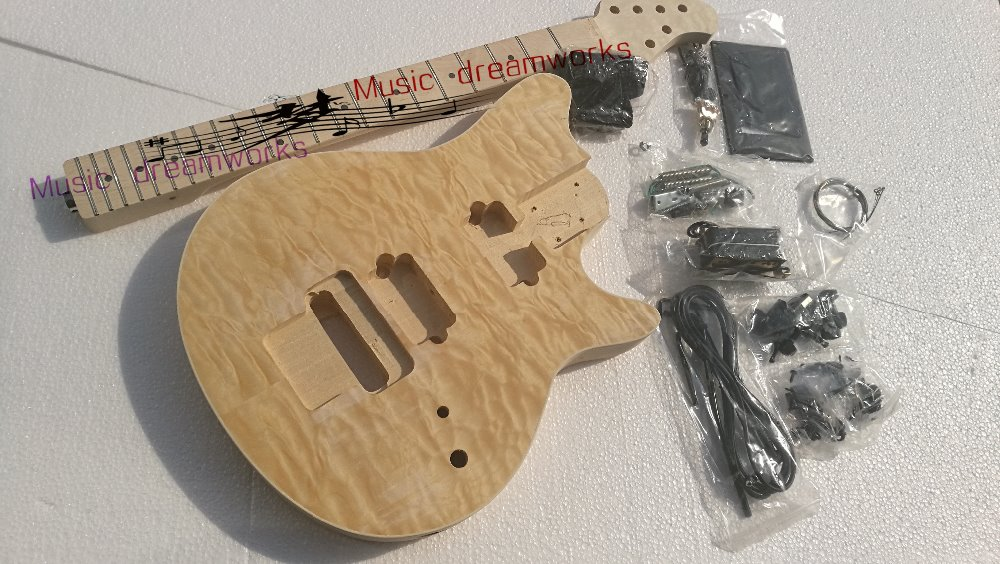 China OEM firehawk electric guitar,personal DIY craft the guita semi-finished guitar, Ems free shipping china s es p guita wholesale newest explorer electric guitar high quality ems free shipping free shipping