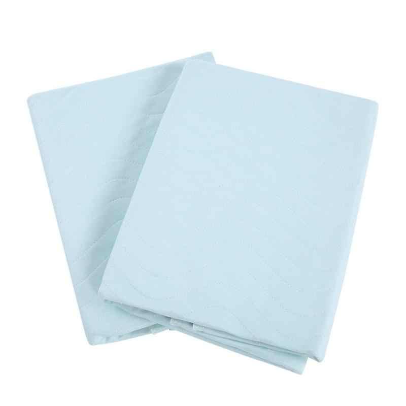 2 個アダルト再利用可能なアンダーパッド洗える防水子供のための大人のケアプロテクターベッドパッド失禁プロテクター変更マットパッド