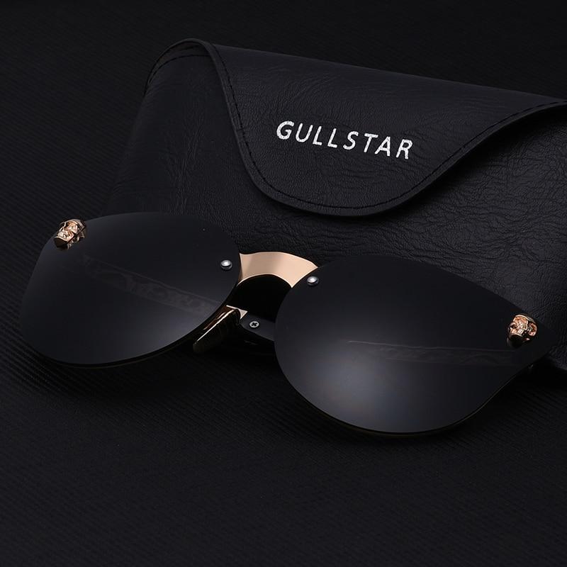 4148265b9 GULLSTAR 2019 Fashion Women Gothic Sunglasses Skull Frame Metal Temple High  Quality Sun glasses Oculos De Sol Feminino Luxury 65.6 ₪