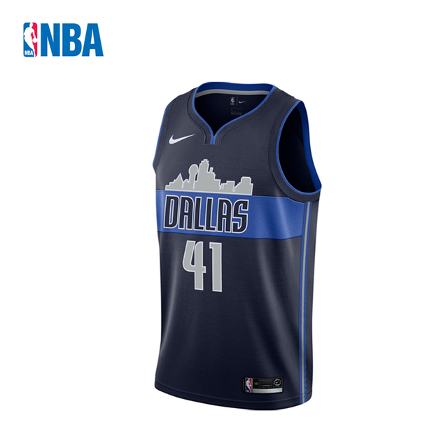 0d565a5f7 Original NBA Jerseys Men s Dallas Mavericks NO.41 Dirk Nowitzki Nike  Swingman Jerseys