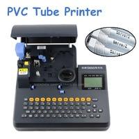 หลอดอิเล็กทรอนิกส์ตัวอักษรเครื่อง PVC เครื่องพิมพ์หลอด Shrinkable สายผลิตภัณฑ์เครื่องพิมพ์ลวดเครื...