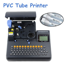 Free by DHL PVC Tube Printer S-650 Shrinkable Tube Electronic Lettering Machine Shrinkable Cable ID Printer Wire Marking Machine 9mm max tube marking machine sticker 8m