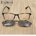 Magnet Eyeglasses Full Rim Optical Frame Prescription Spectacle Round Myopia Eye Glasses Sunglasses Anti Glare Anti UV 721098