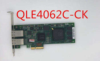 QLogic QLE4062C-CK QLE4062C 2 Port 1GbE iSCSI Adapters TCP/IP network PciE Controller Card