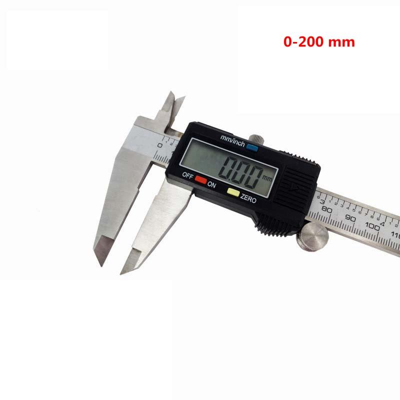 Digital Vernier Caliper 200mm 8 Inch Lcd Electronic