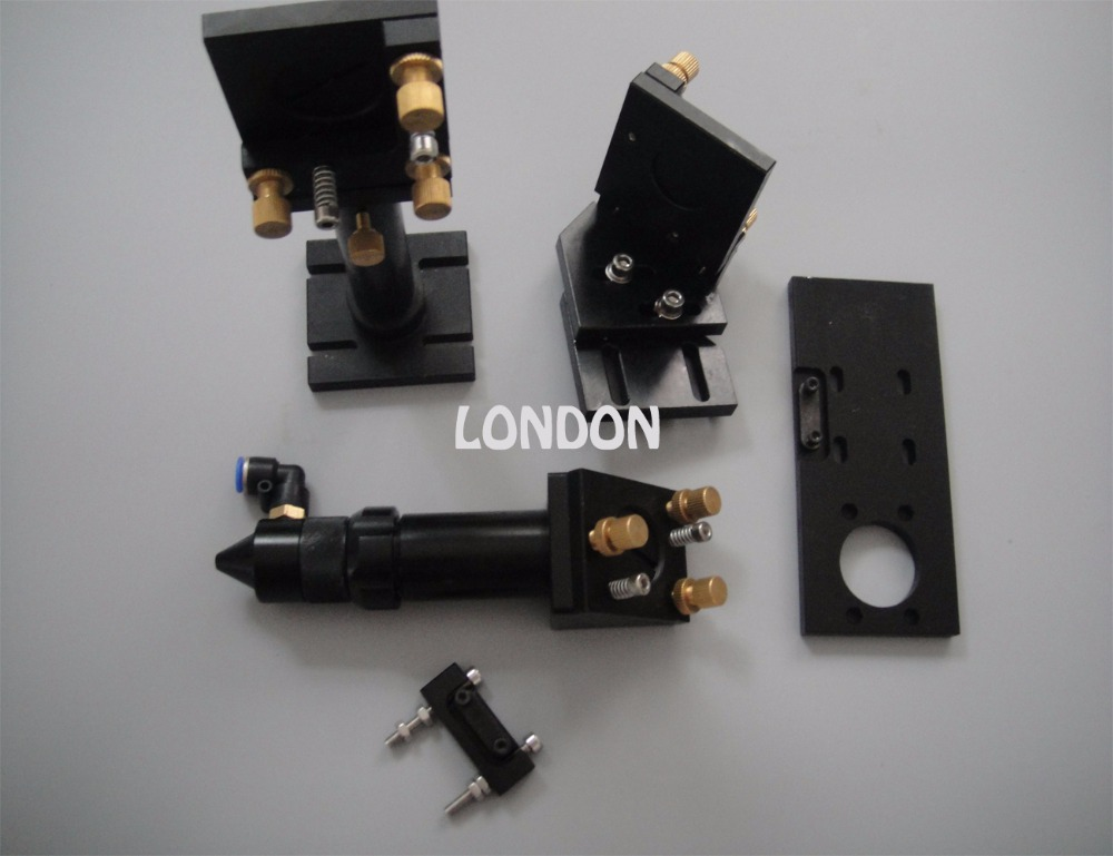 Laser machine mechanical parts laser head+the first and second reflection mirror supporter available for dia.20mm focus lens yamaha pneumatic cl 16mm feeder kw1 m3200 10x feeder for smt chip mounter pick and place machine spare parts