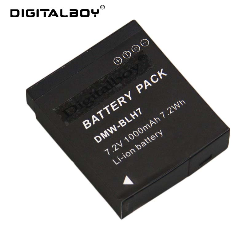 Digital Boy 1 Pcs DMW-BLH7 BLH7PP BLH7E Battery For Panasonic Lumix DMC-GM1 GM1 DMC-GM5 GM5 DMC-GF7 GF7 DMC-GF8 GF8 LX10 LX15