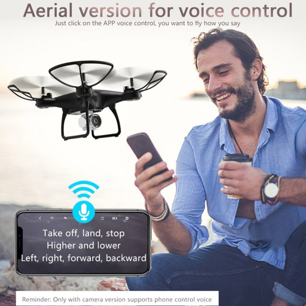 Utoghter 69601 RC Drone Headless Mode WiFi FPV Drone with 0.3MP 2.0MP Camera H/L Speed Altitude Hold One-key Return Quadcopter