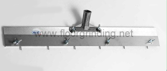 800mm 32'' Width NCCTEC Pin Leveller Self Levelling | Stainless Steel Scraper Which Can Adjust The Teeth From 0-30mm