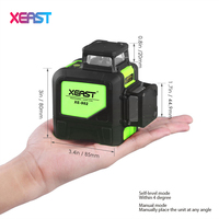 XEAST 8line Laser Level XE 902 360 Vertical And Horizontal Self Leveling Cross Line 3D Laser