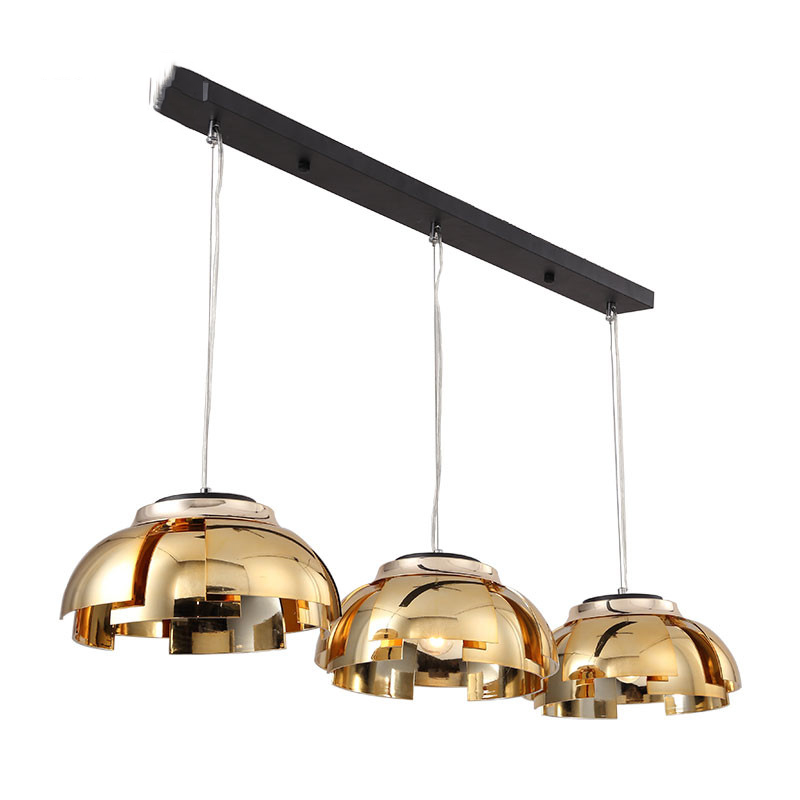 3 Heads Postmodern Creative Concise Art Style Restaurant Pendant Light Livingroom Bedroom Cafe Decoration Lamp Free Shipping wecus free shipping restaurant bar cafe pendant lamp creative coins led acrylic pendant lamp 1 heads 9w
