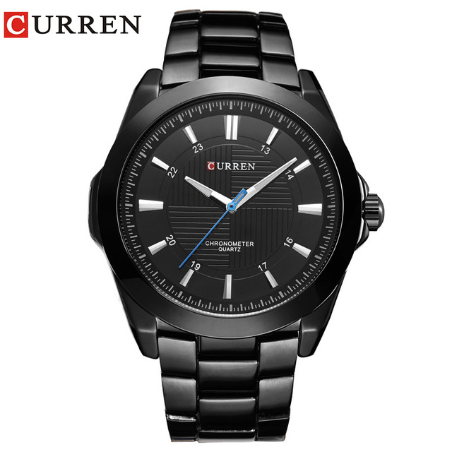 CURREN Luxury Brand Men Army Sport Watches Mens Fashion Casual Quartz Wrist Watch Male Waterproof Analog Clock Relogio Masculino new watches men luxury brand sinobi sport casual quartz watch fashion mesh strap waterproof clock male relogio masculino