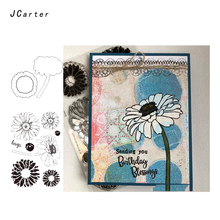 JC Rubber Stamps and Metal Cutting Dies Scrapbooking Cut Sunflower Clear Card Making Craft Stencil Decor Album New