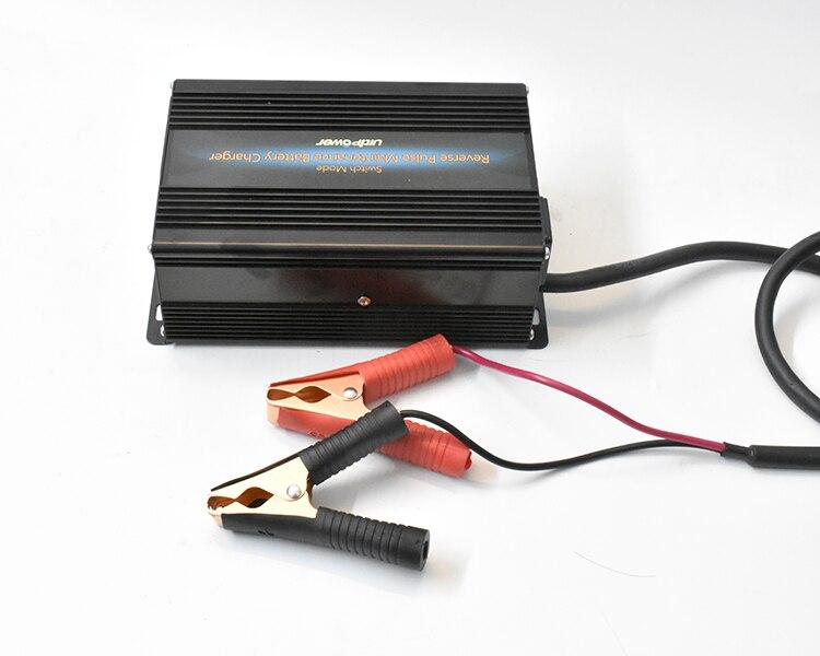 Chargeur d'équilibre numérique RC 12 V chargeur d'acide de plomb de batterie de voiture automatique 10A chargeur d'impulsion inverse automatique chargeur de batterie