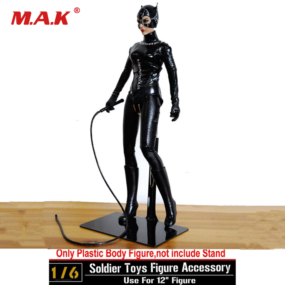 1/6 Scale Soldier Toys figure Accessory Custom CG CY Girl Female Catwoman Batman 1989 Action Figure Collection Doll Toys Gift 1 6 scale plastics united states assault rifle gun m16a1 military action figure soldier toys parts accessory