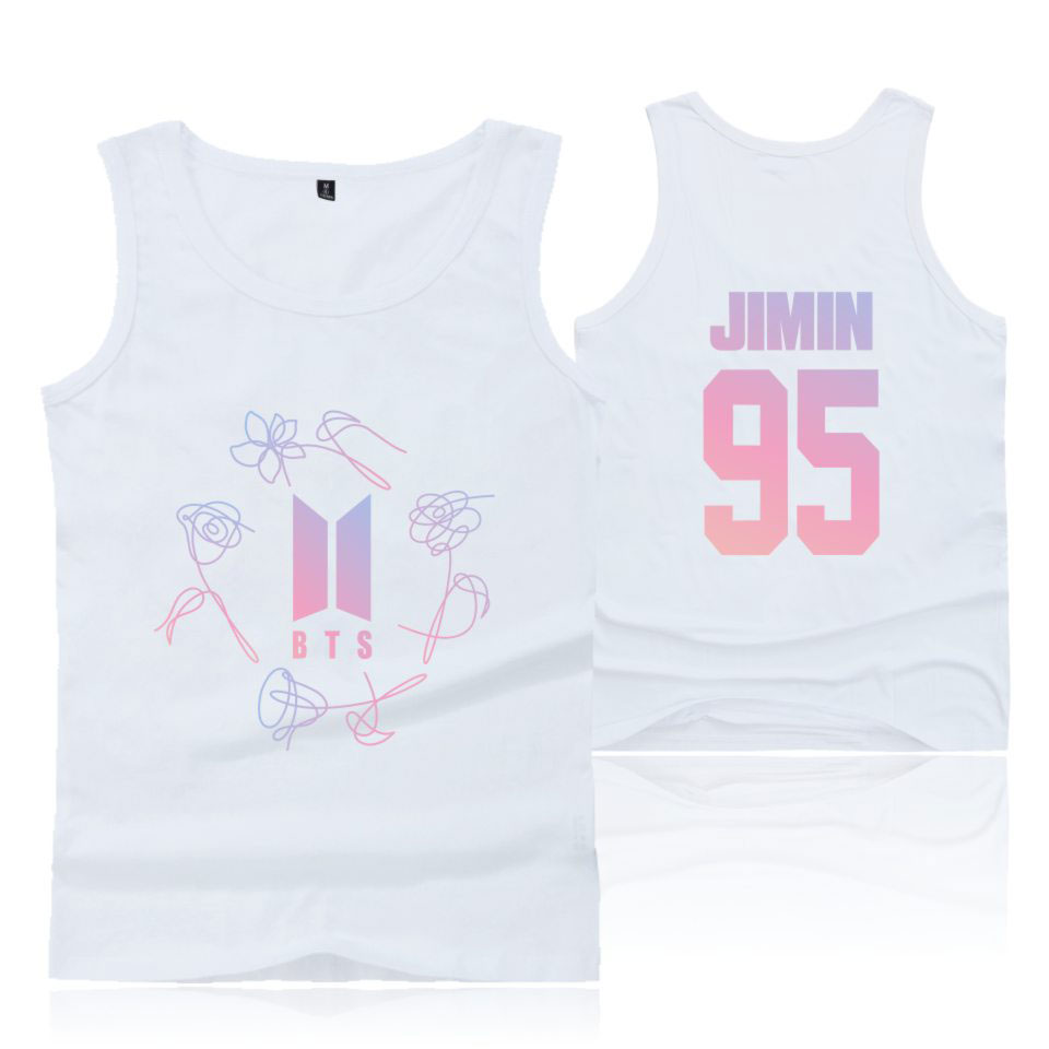BTS reflective safety vest sleeveless shirts LOVE YOURSELF Tear shirts for t shirts female