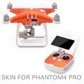 Pgytech dji phantom 4 pro accesorios pegatinas piel profesional 3 m impermeable pvc tatuajes 4 k cámara rc quadcopter drone partes